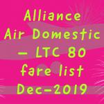 Aillance Air India Ltc Air fare