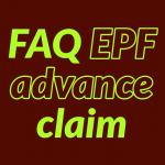 EPF Advance claim