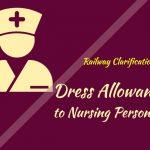 Dress Allowance Clarification