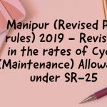 Cycle maintenance allowance