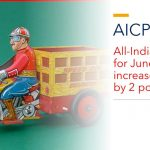 All-India CPI-IW for June, 2020 increased by 2 points