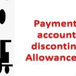 Discontinued Allowance