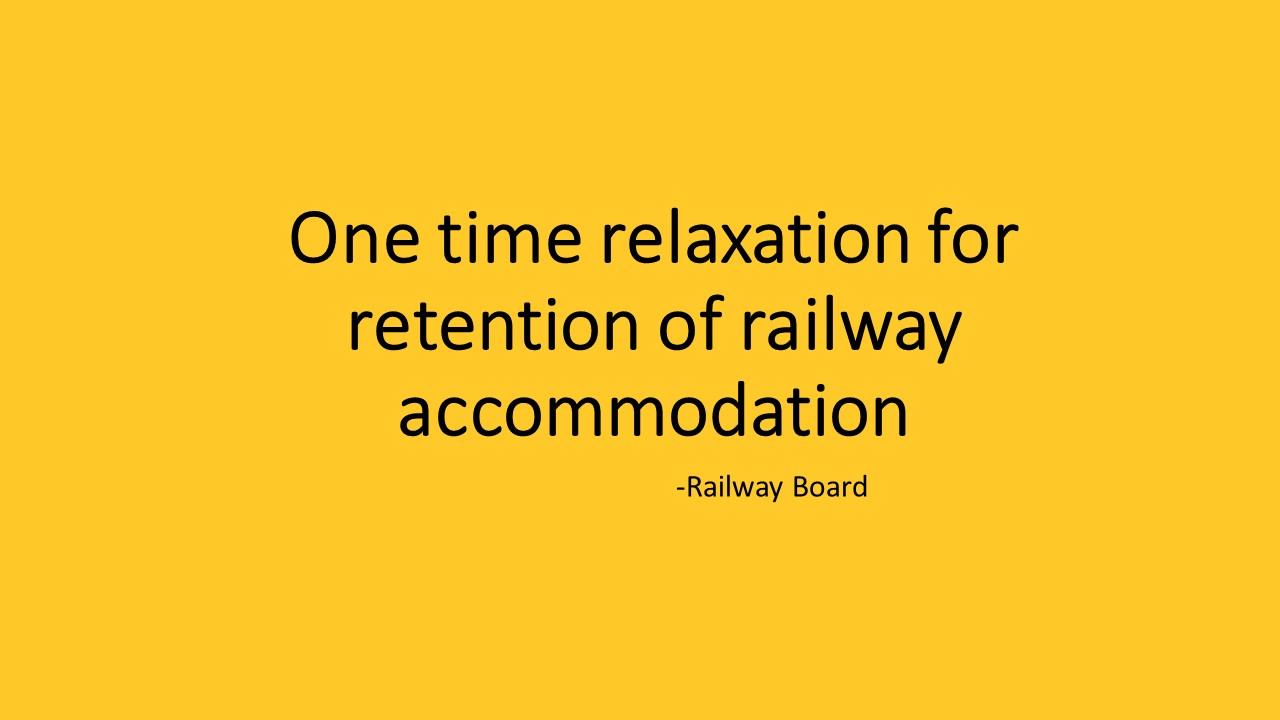 Railway Board Order