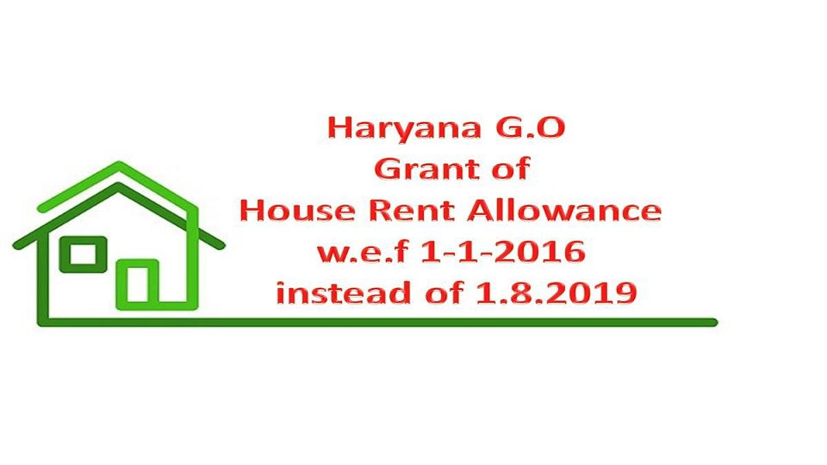 Haryana HRA