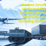 Travelling Allowance, Daily allowance, travelling entitlement revised structure in haryana