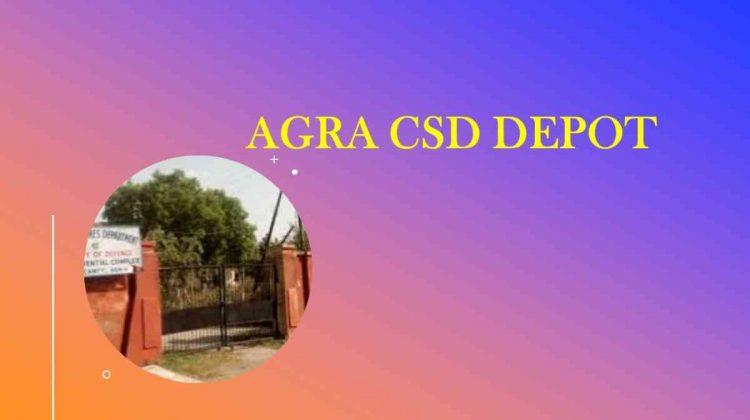 Agra CSD depot