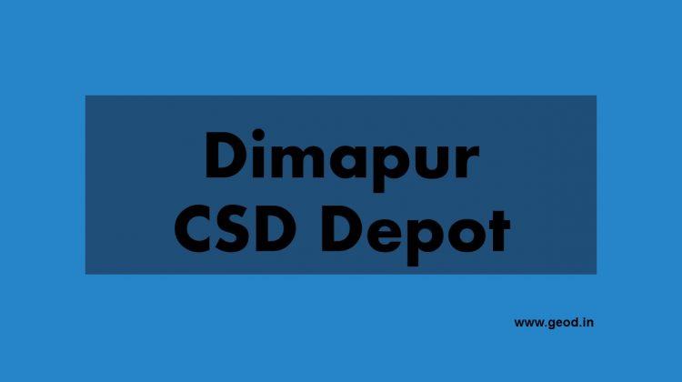 Dimapur CSD depot
