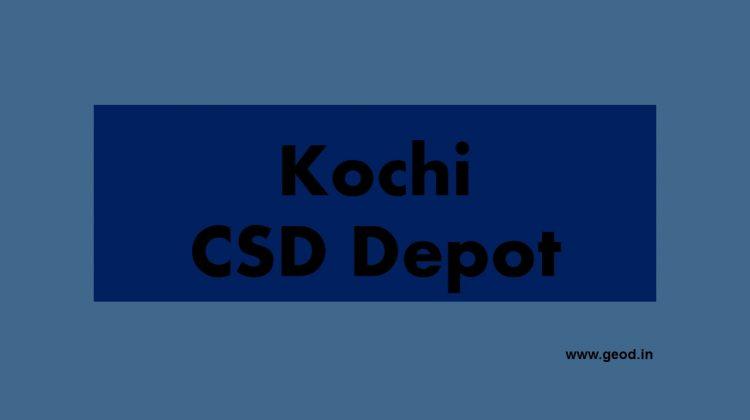 Kochi CSD Depot