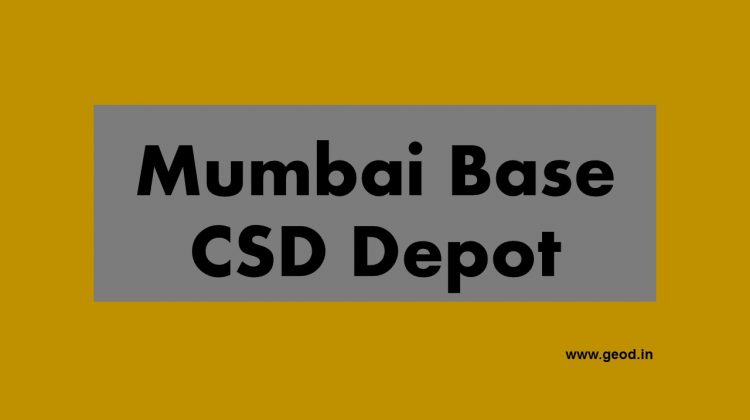 Mumbai Base CSD Depot