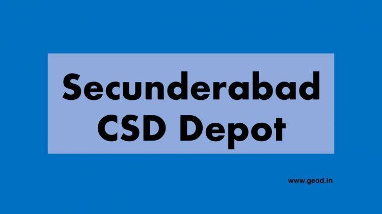 Secunderabad CSD Depot