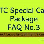 Special Package equivalent in lieu of Leave Travel Concession Fare for Central Government Employees