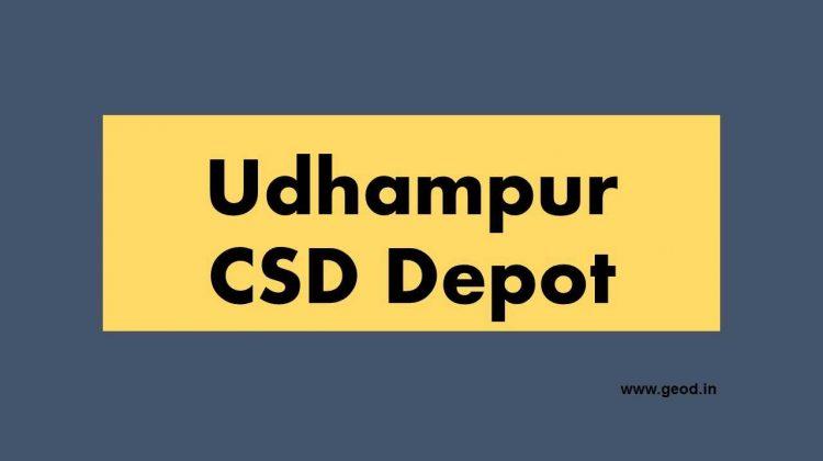 Udhampure CSD Depot