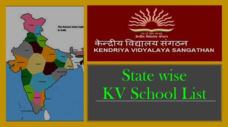 KV School list
