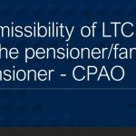 Admissibility of LTC to the pensioner/family pensioner - CPAO