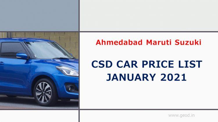 Ahmedabad Maruti Suzuki
