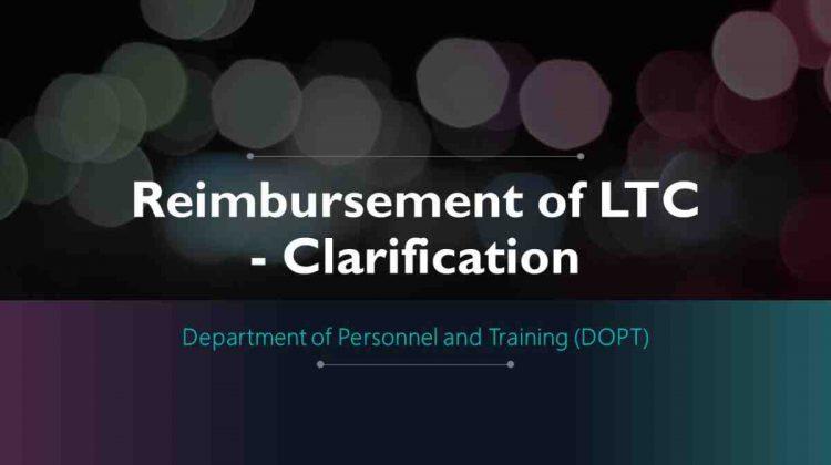 LTC - Clarification