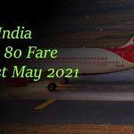 Air India LTC 80 Fare List May 2021Air India LTC 80 Fare List May 2021Air India LTC 80 Fare List May 2021Air India LTC 80 Fare List May 2021