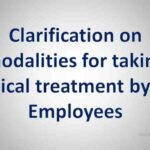 Clarification on modalities for taking medical treatment by KVS Employees