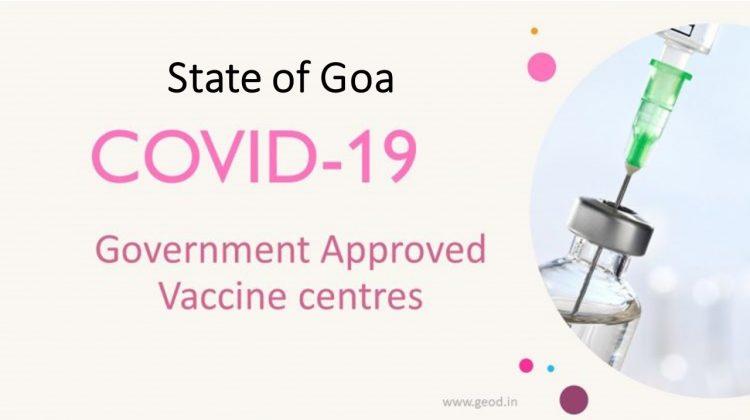 Covid Vaccine Centres in Goa