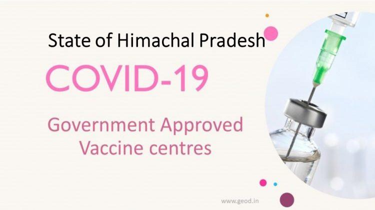 Covid Vaccine Centres in Himachal Pradesh