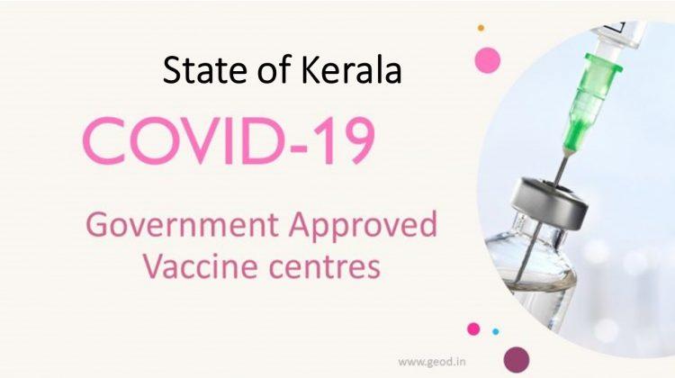Covid Vaccine Centres in Kerala
