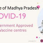 Covid Vaccine Centres in Madhya Pradesh