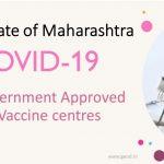 Covid Vaccine Centres in Maharashtra