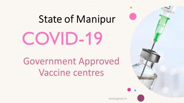 Covid Vaccine Centres in Manipur