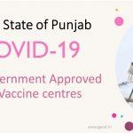 Covid Vaccine Centres in Punjab