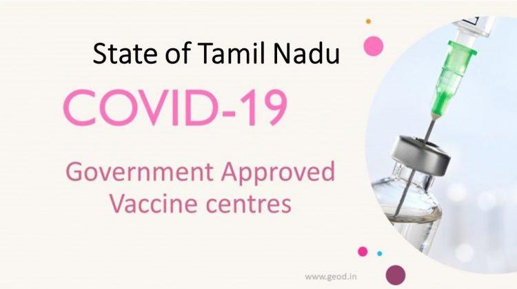 Covid Vaccine Centres in Tamil Nadu