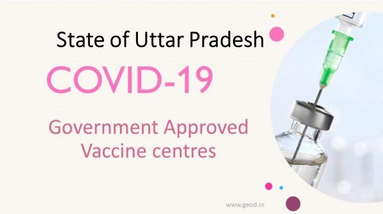 Covid Vaccine Centres in Uttar Pradesh