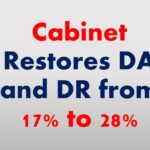 Cabinet Restores DA and DR from 17% to 28%