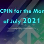 AICPIN for the Month of July 2021