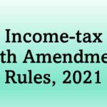 Income-tax (26th Amendment) Rules, 2021