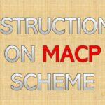 Instructions on MACP Scheme